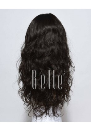 100% Hand-tied Whole Swiss Lace Wigs Chinese Virgin Hair Brazilian Wave