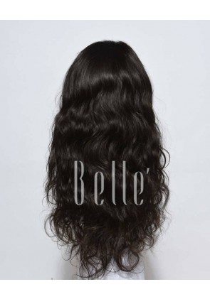 Glueless Full Lace Wigs Indian Remy Hair Brazilian Wave