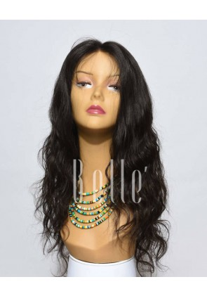 100% Premium Malaysian Virgin Hair Full Lace Wig Brazilian Wave In Stock
