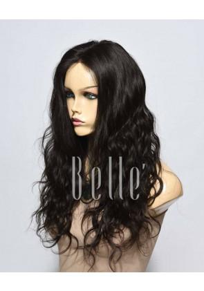 Swiss Lace Front Wigs 100% Premium Peruvian Virgin Hair Brazilian Wave