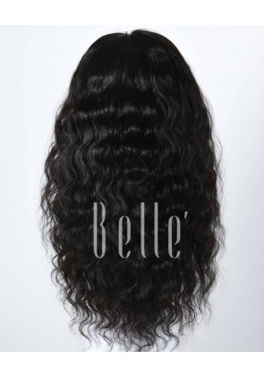 Deep Body Wave Natural Human Hair Malaysian Virgin Hair Full Lace Wig