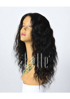 Deep Body Wave 100% Best Human Hair Chinese Virgin Hair Silk Top Full Lace Wig