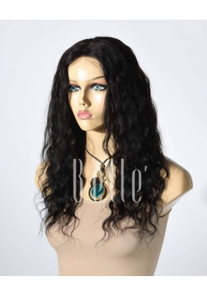 100% Best Human Hair Peruvian Virgin Hair Lace Front Wig Deep Body Wave