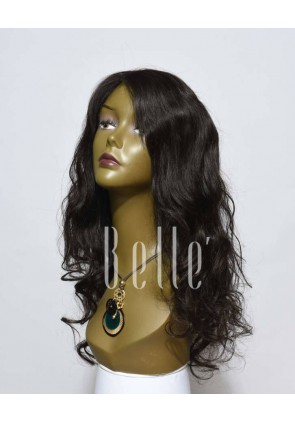 European Curly 100% Premium Indian Virgin Hair Full Lace Wig