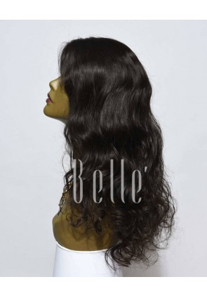 European Curly 100% Premium Malaysian Virgin Hair Full Lace Wig