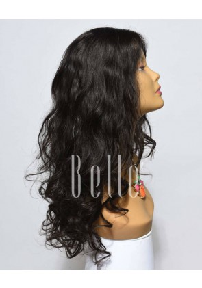 European Curly 100% Premium Mongolian Virgin Hair Lace Front Wig