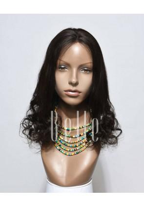 Half Spiral Curl Comfortable Full Lace Wig Brazilian Virgin Hair