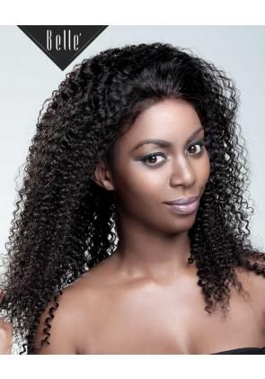 100% High Quality Human Hair Indian Virgin Hair Silk Top Full Lace Wig Kinky Curl