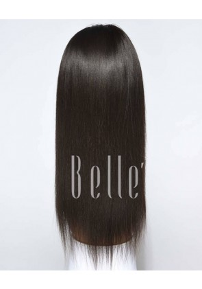 Best Seller Light Yaki 100% Premium Indian Virgin Hair Full Lace Wig