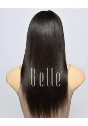 Best Seller Light Yaki 100% Premium Peruvian Virgin Hair Lace Front Wig