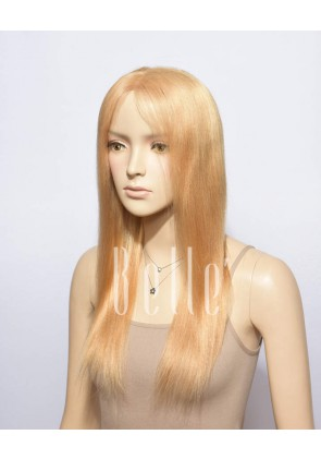 Light Yaki #27 Blonde Color 100% Premium Chinese Virgin Hair Full Lace Wig