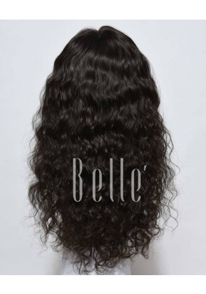 Natural Curl Top-quality 100% Unprocessed Chinese Hair Swiss Lace Front Wig