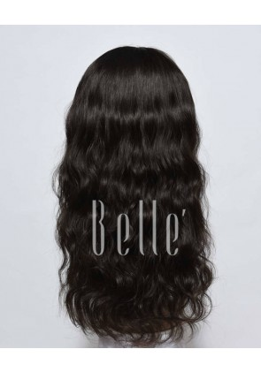 Affordable Silk Top Lace Front Wig Natural Wave Best Indian Remy Hair No Shedding