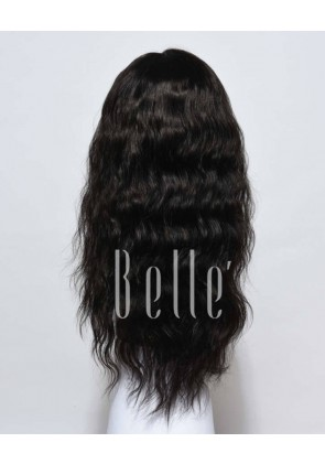 Affordable Silk Top Full Lace Wig Natural Wave Best Brazilian Virgin Hair No Shedding