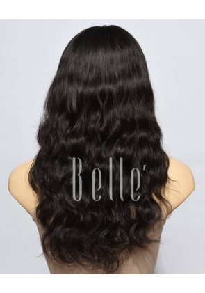 Affordable Lace Front Wig Natural Wave Best Indian Remy Hair No Shedding