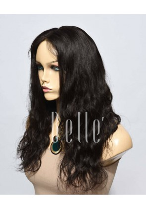 Affordable Lace Front Wig Natural Wave Best Indian Virgin Hair No Shedding