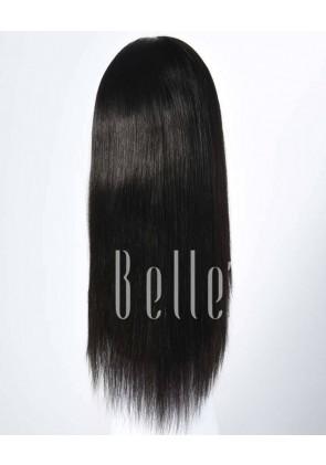 Silky Straight 100% Best Brazilian Virgin Hair Silk Base Full Lace Wig In Stock