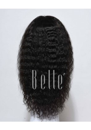 Glueless Full Lace Wigs Indian Remy Hair Spanish Wave
