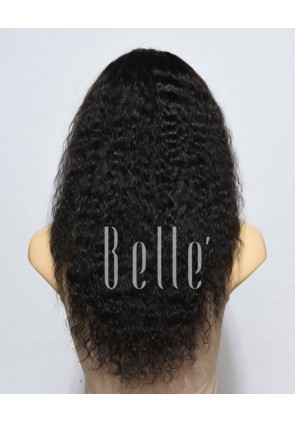 Spanish Wave Chinese Virgin Hair Full Lace Wig Free Parting