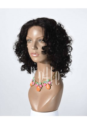 100% Premium Human Hair Malaysian Virgin Hair Full Lace Wig Spiral Curl
