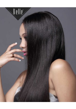 Silky Straight 100% Best Peruvian Virgin Hair Silk Top Full Lace Wig In Stock